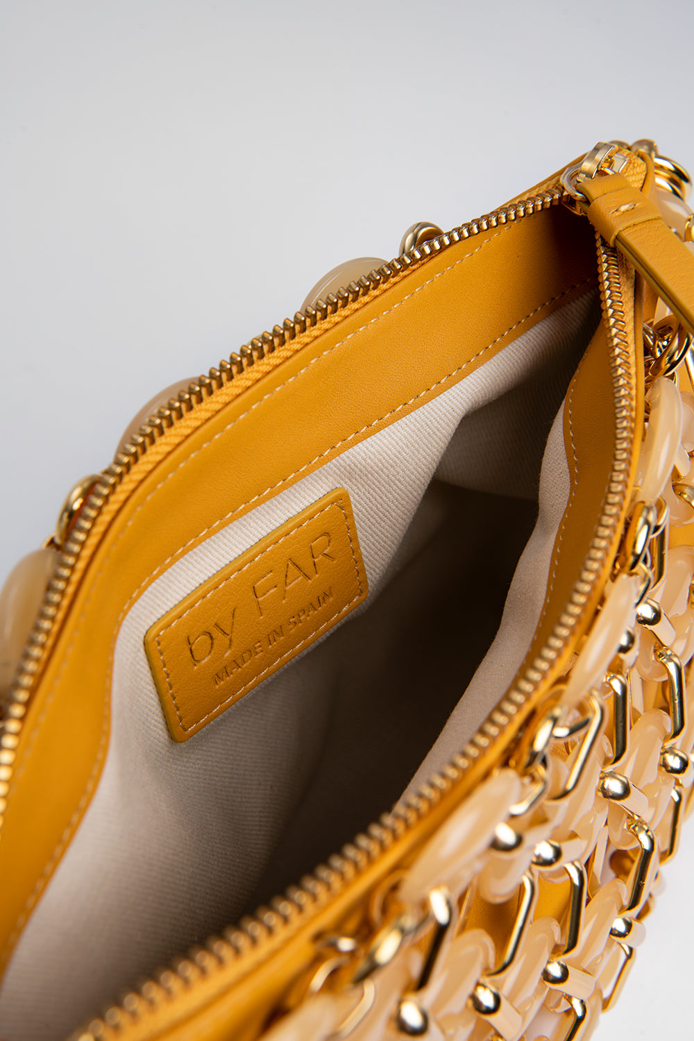 Capria Yellow Leather