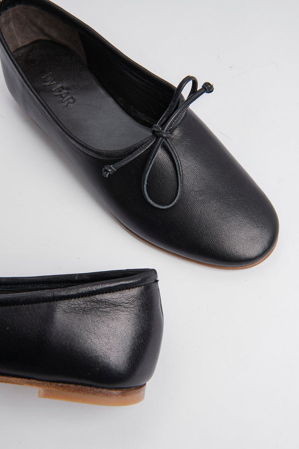 Agnes Black Leather