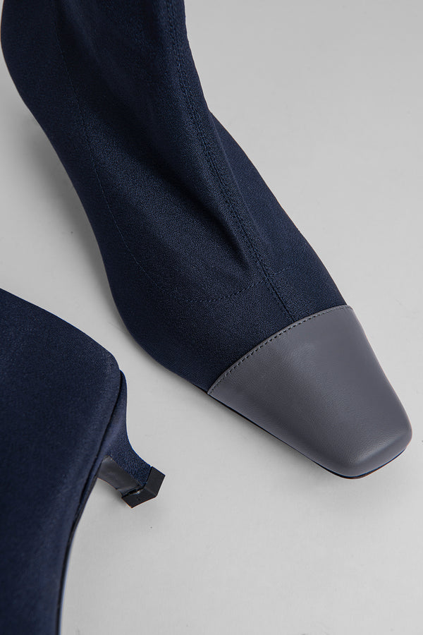 Karl Navy Stretch Fabric