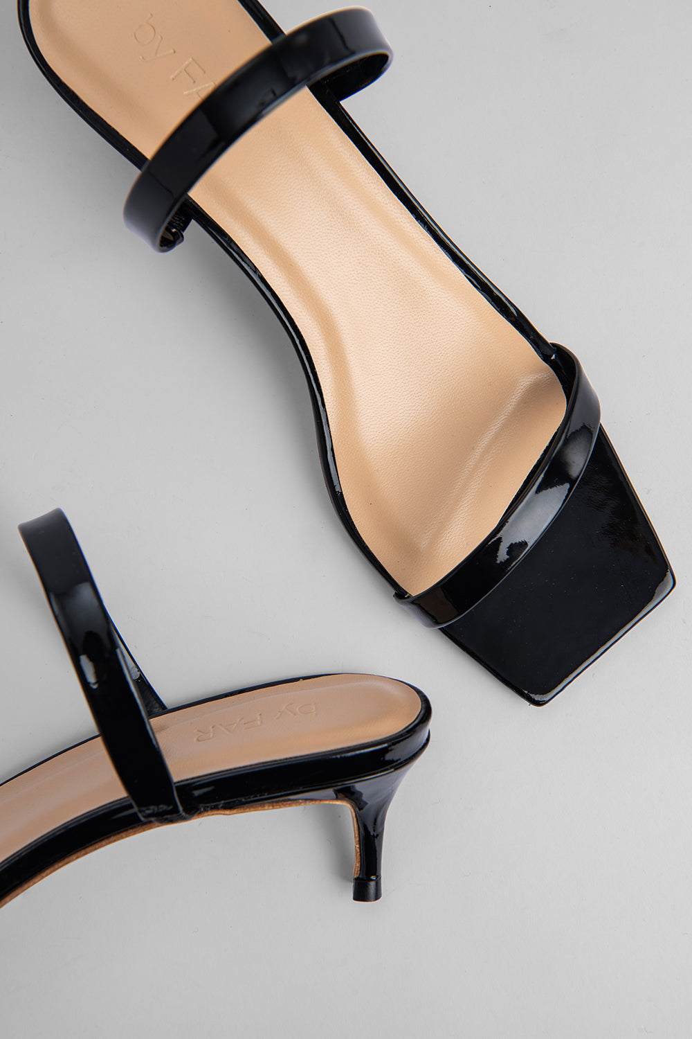 Thalia Black Patent Leather