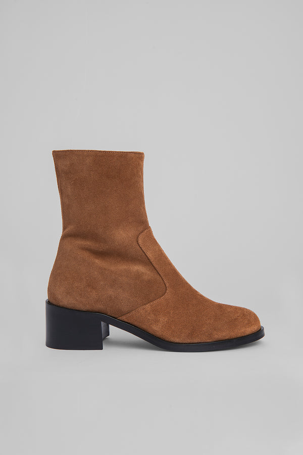 Lara Cognac Suede Leather