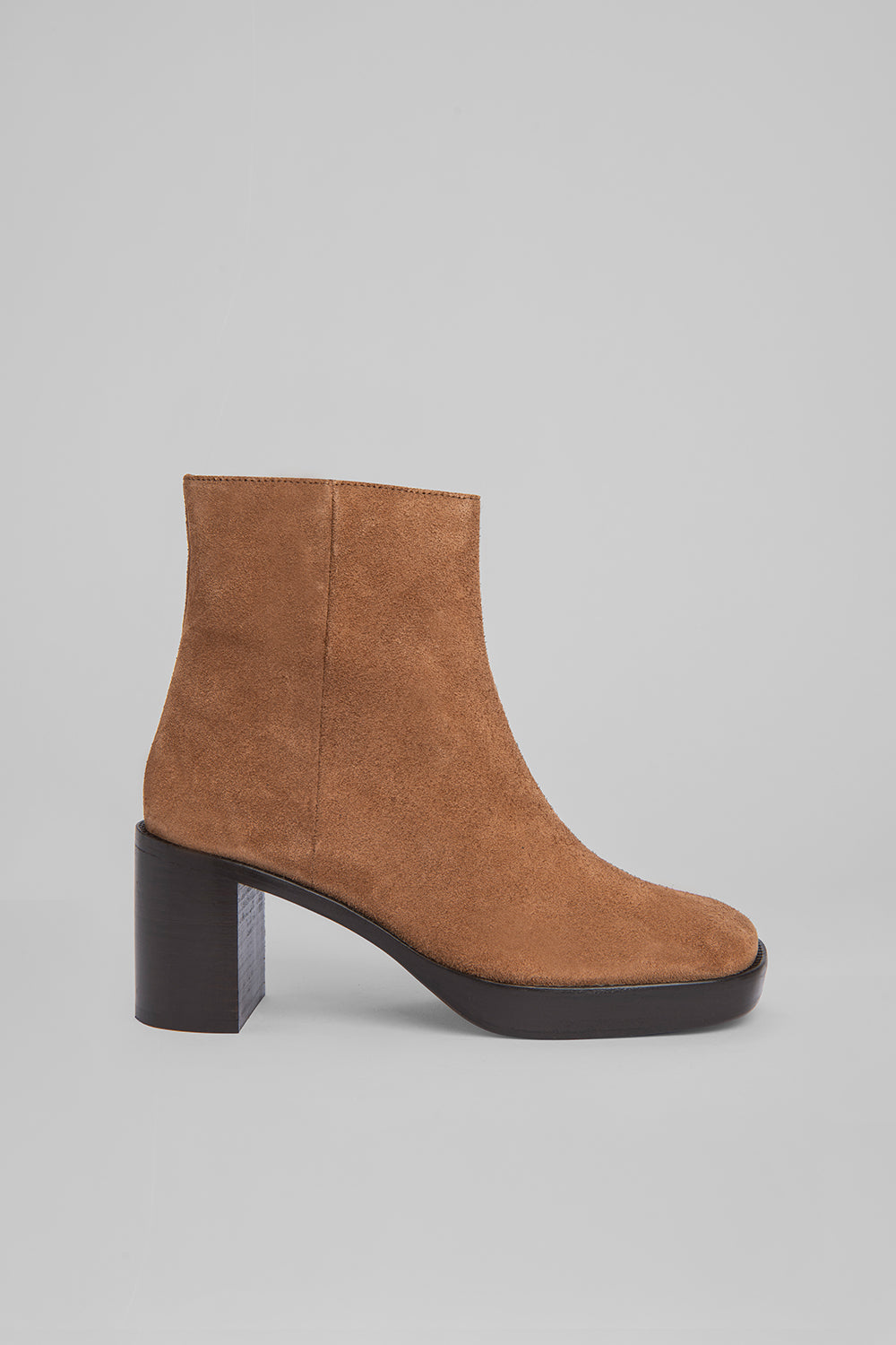 Ellen Cognac Suede Leather