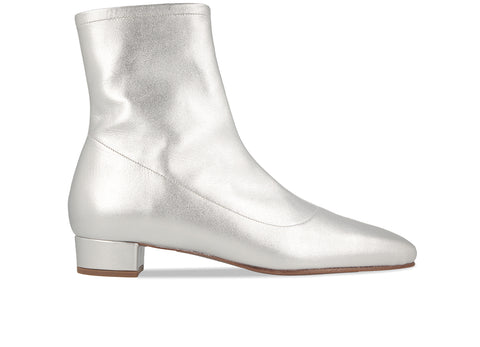 4f757d7b9429 Este Boot Silver Leather ...