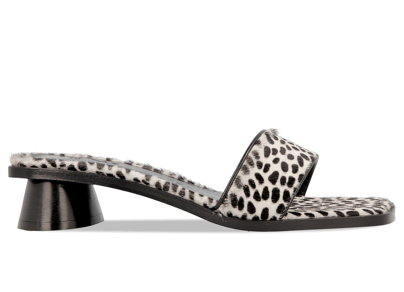 Sonia Cheetah-Print Pony Hair Leather