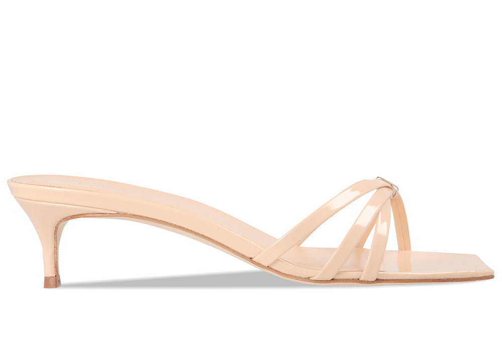 Libra Nude Patent Leather
