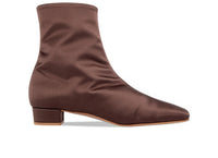 Este Boot Brown Silk