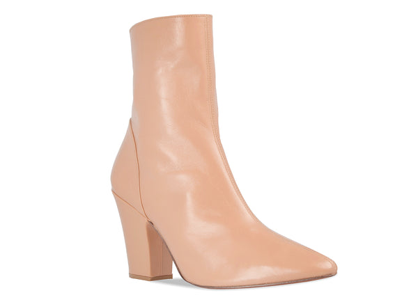 Niki Boot Cream Leather
