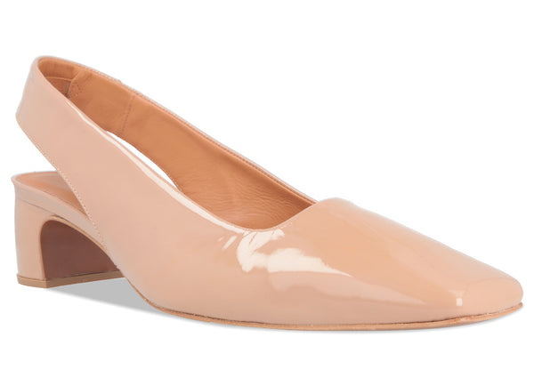 Danielle Nude Patent Leather