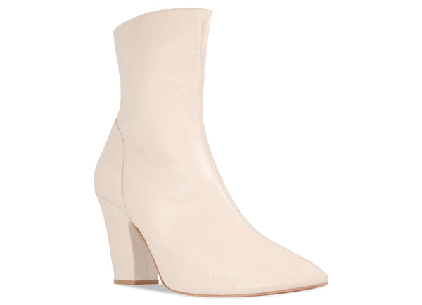 Niki Boot White Leather