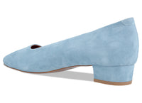 Romy Light Blue Suede