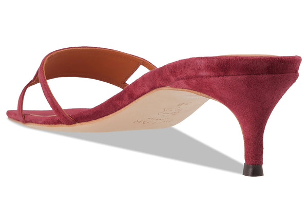 Virgo Bordeaux Suede