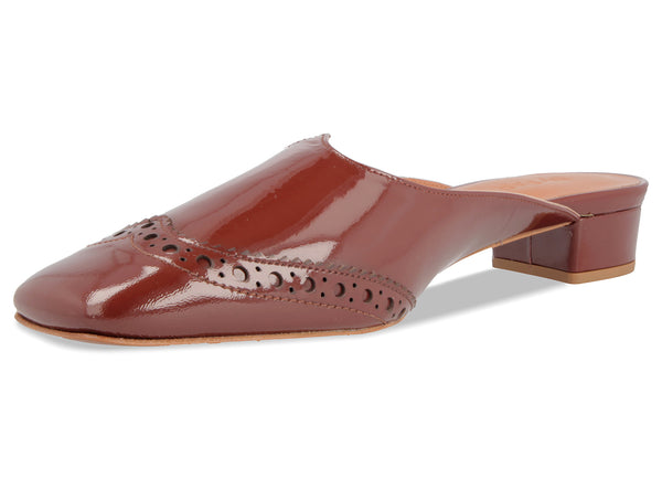 Daria Brown Patent Leather