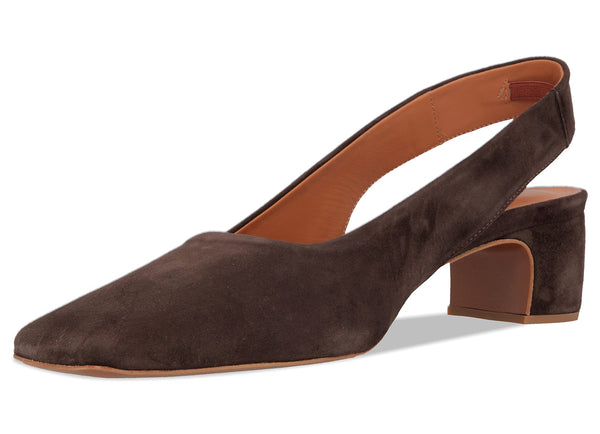 Danielle Brown Suede