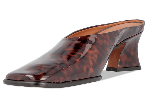 Kim Tortoise Patent Leather