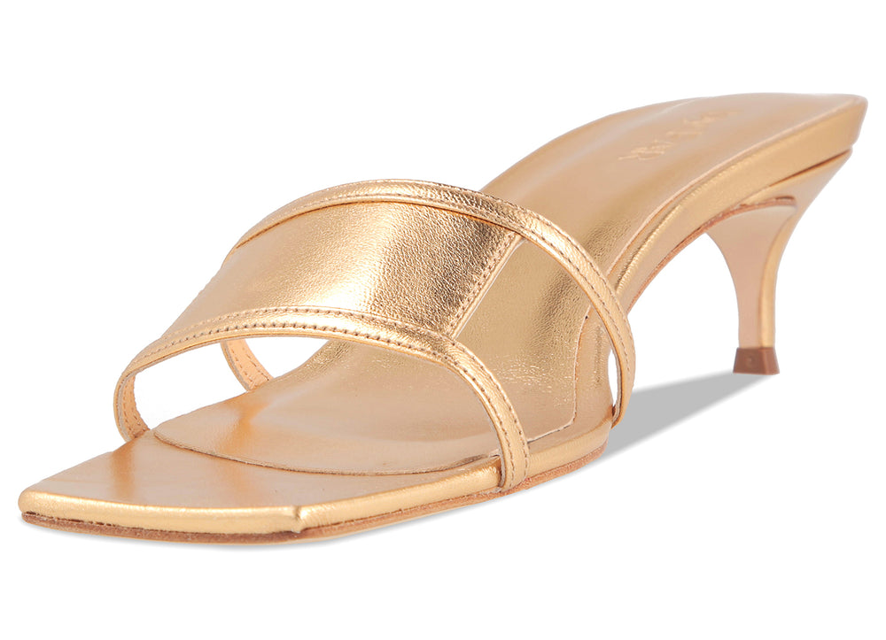 Virgo Gold Leather