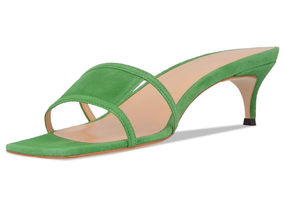 Virgo Green Suede