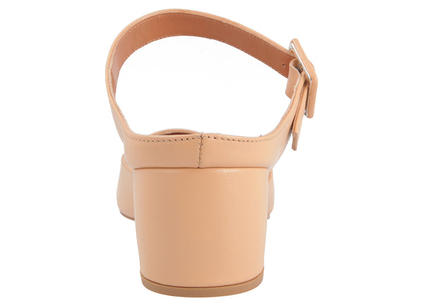 Mira Nude Leather