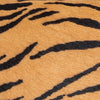 Mini Tiger-Print Pony Hair Leather