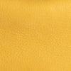 Cush Yellow Flat Grain Leather