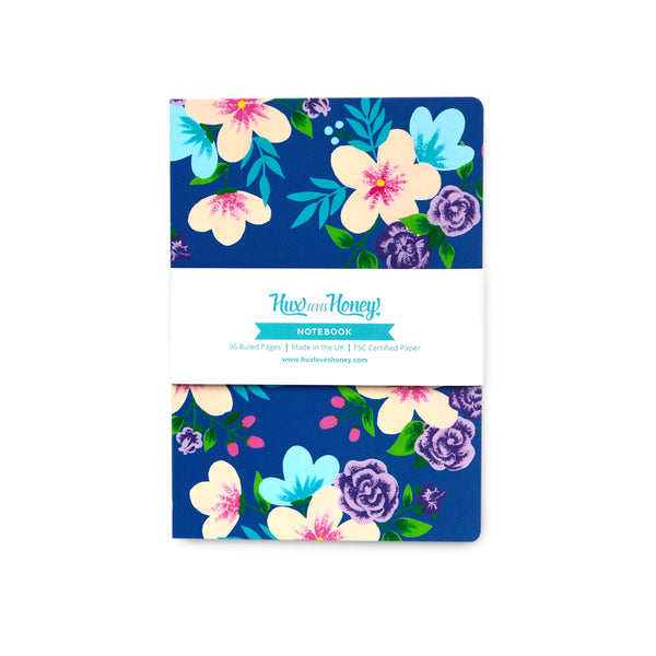 Bright Floral Notebook