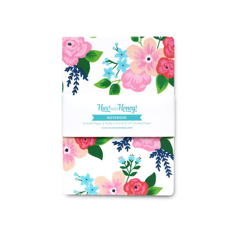 Classic Floral Notebook