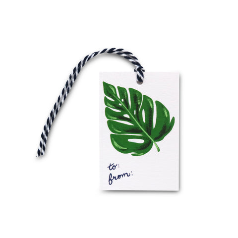 Monstera Gift Tag