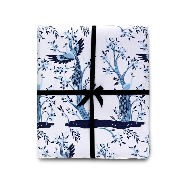 Peacocks Wrapping Paper