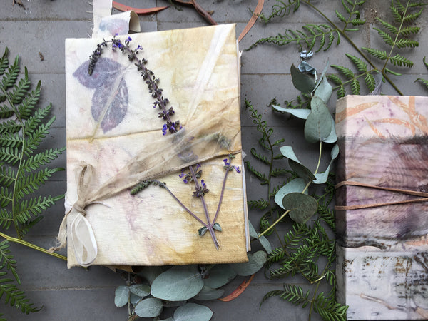 Eco-Printed Journal Making 10th - 11th November  2018