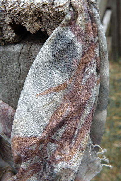 Medium Merino Wool Scarf ~ Summer Collection