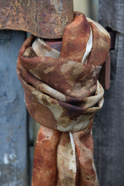 Small Merino Wool Scarf ~ Summer Collection