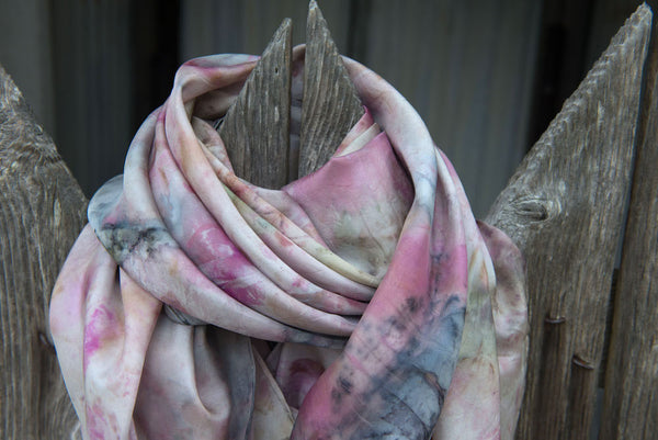 Large Silk Scarf ~ Summer Collection