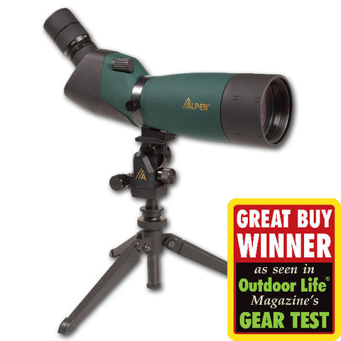Alpen 20-60x80 Angle Spotting Scope
