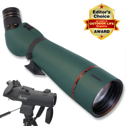 Alpen Rainier EDHD 25-75x86 Spotting Scope