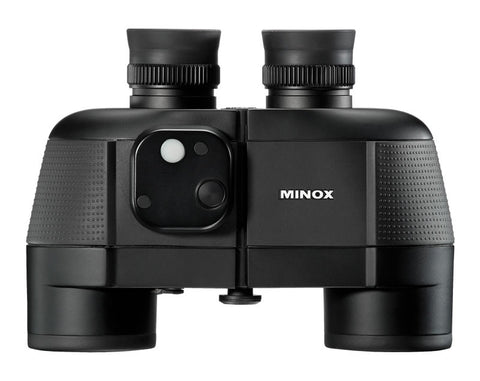 MINOX BN 7 x 50 DC Nautical Binocular (Digital Compass with Height Prediction) - Available in white or black