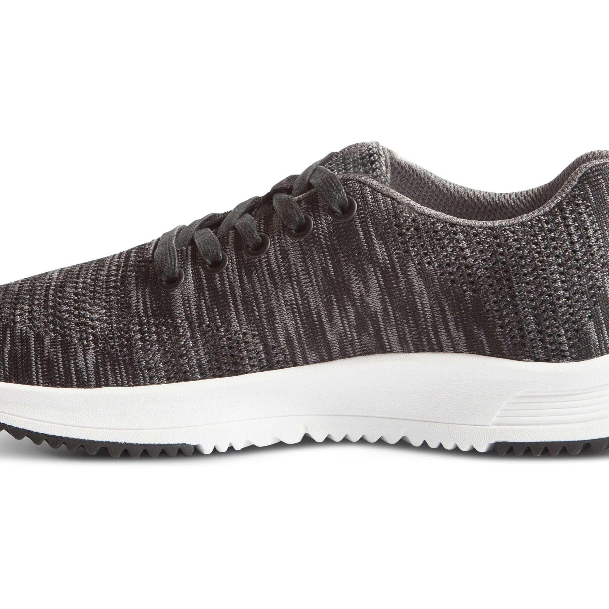 Tall Boy Trainer Knit - Black/Grey