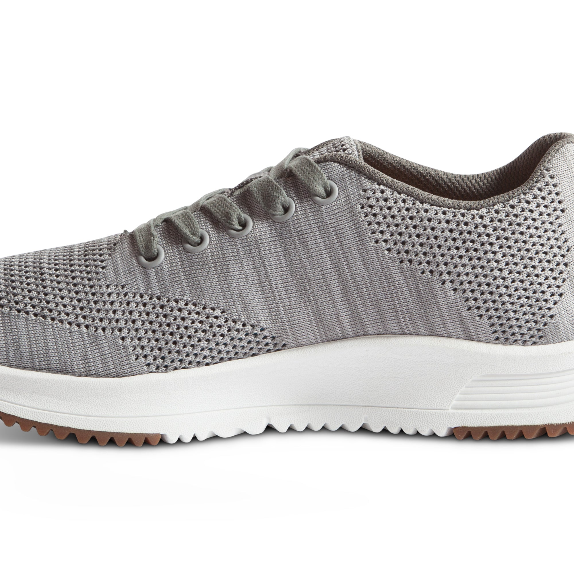 Tall Boy Trainer Knit - Light Grey