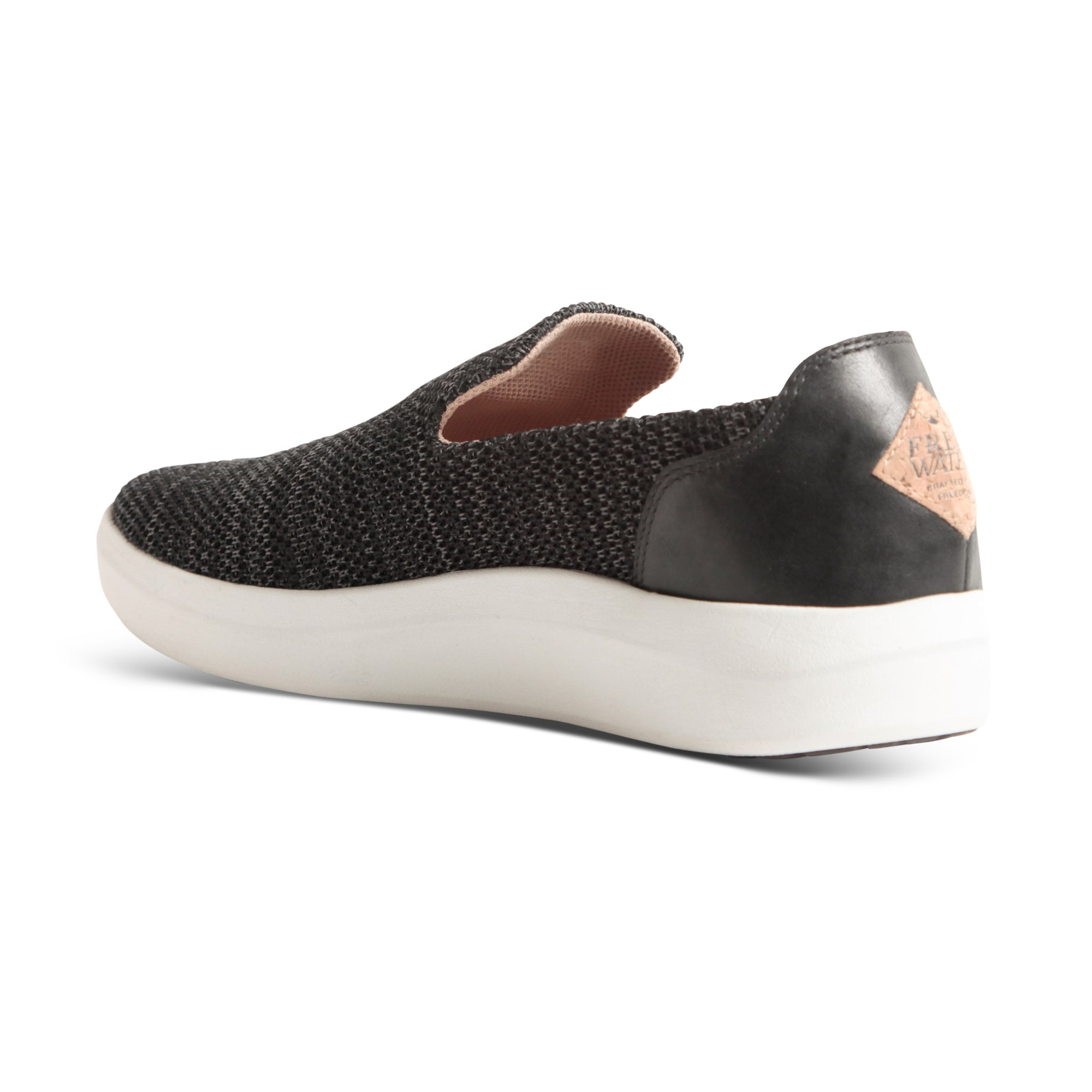 TRVL Slip On - Black