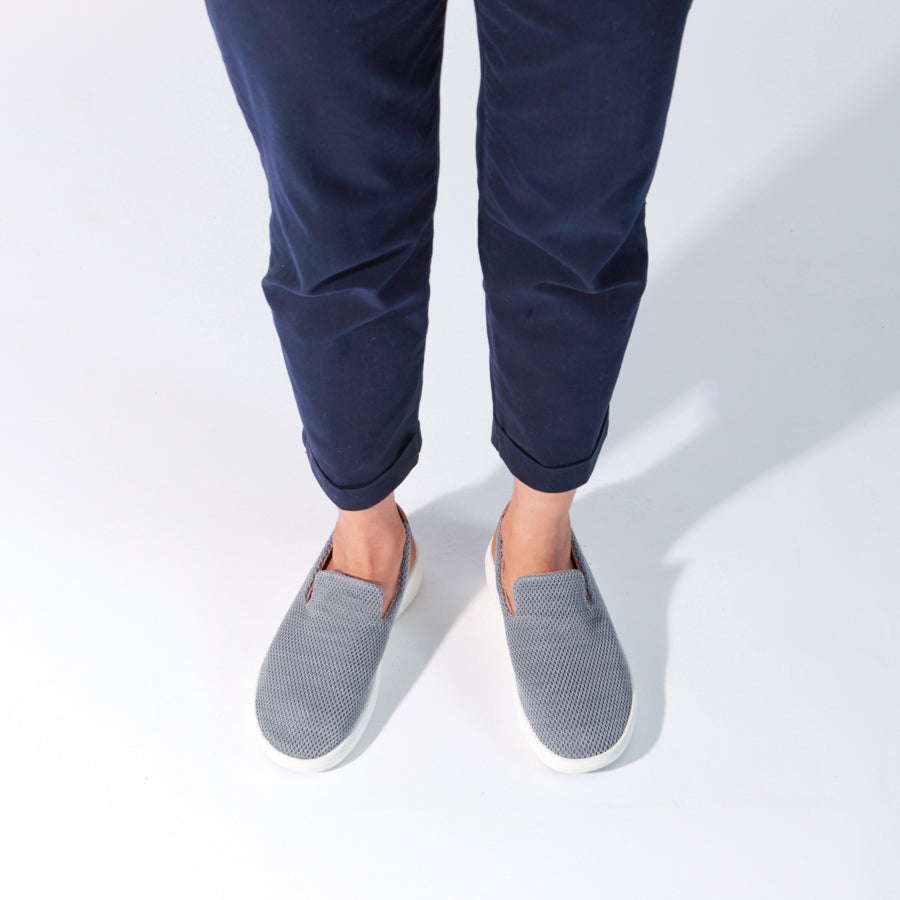 Womens TRVL Slip On - Grey
