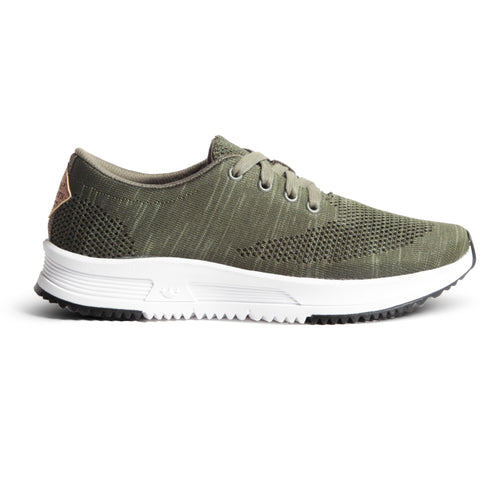 Sky Trainer Knit - Olive