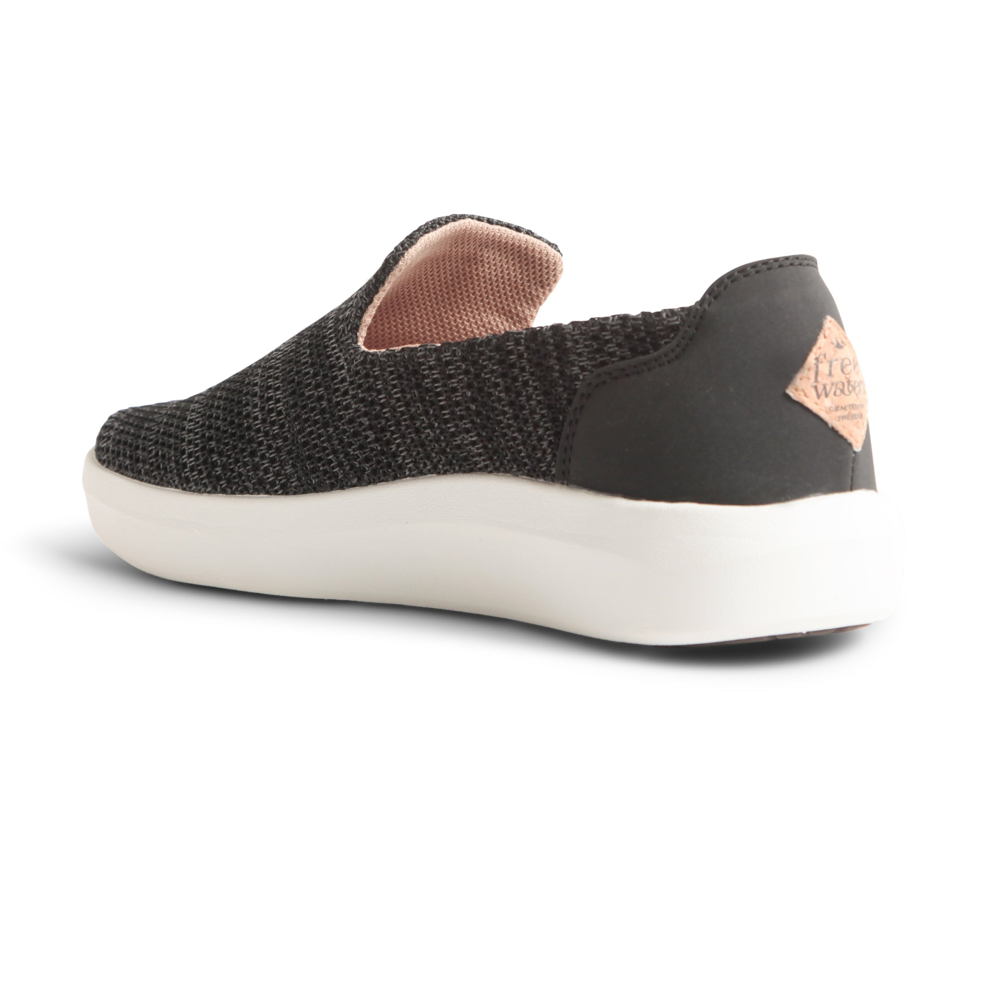 Womens TRVL Slip On - Black