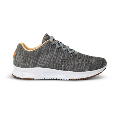 Tall Boy Trainer Knit - Static Gray