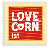 Love Corn Stamp