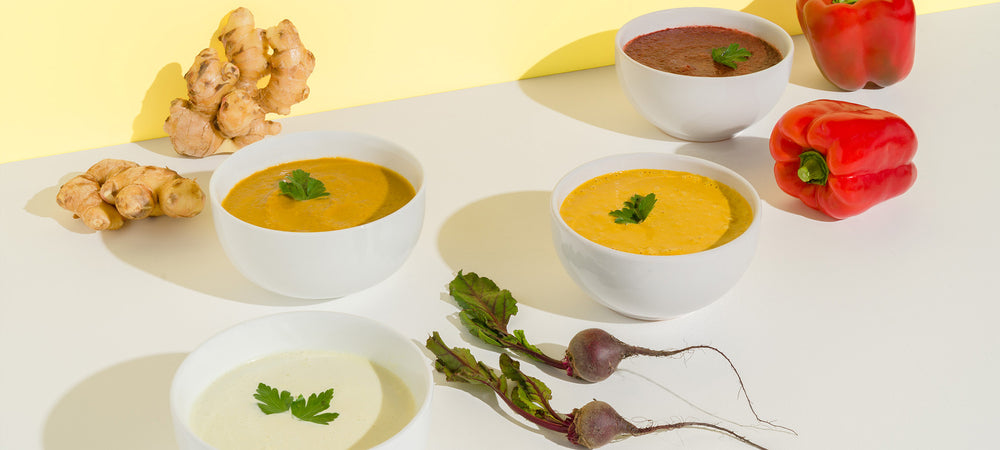 Fresh and Healthy Raw Soups