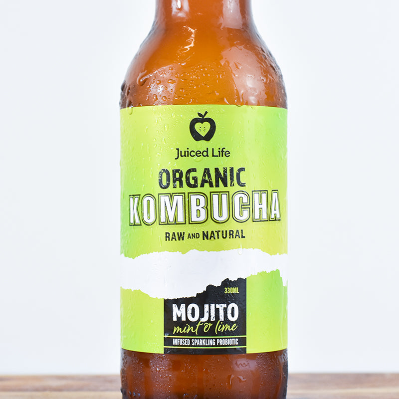 Mint & Lime Kombucha