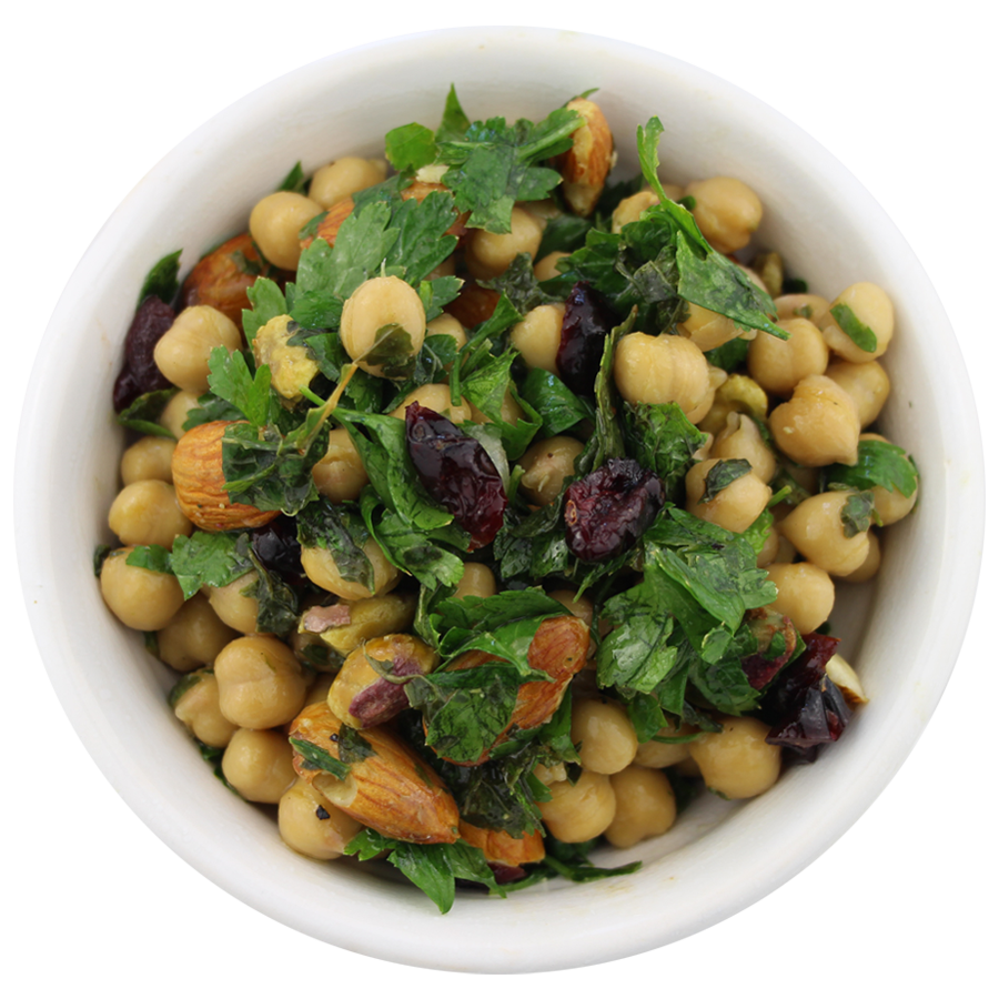 Mint & Chickpea Salad