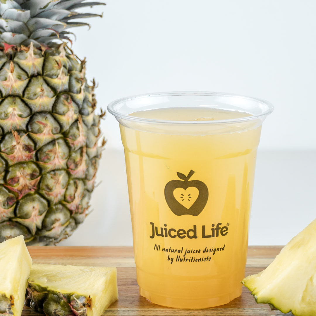 c0b284799 Cold Pressed Pineapple Juice | Juiced Life