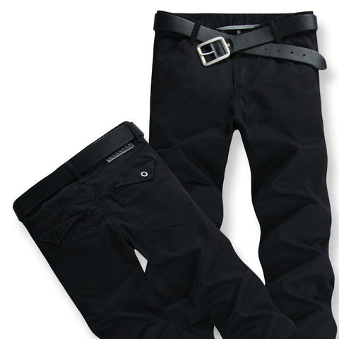Mens Basic Casual Style Pants