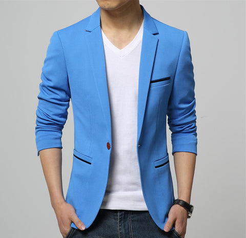 Mens Club Casual Style Fashion Blazer