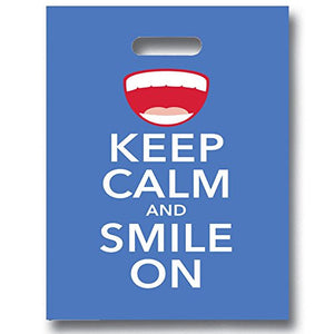 Keep Calm and Smile On Patient Care Bags - 1109656