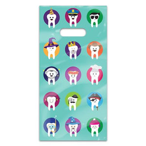 Character Teeth Patient Care Bags (100) - 11098100
